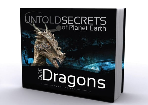 hardcover book: Untold Secrets of Planet Earth