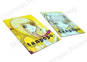 Overseas comic book printing