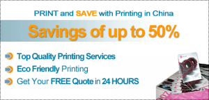 Save up to 50% with eco-friendly, quality printing in China