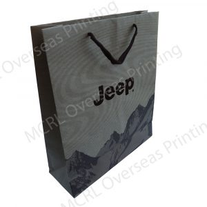 Overseas custom printed bags