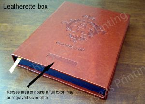 Leatherette box product sourcing