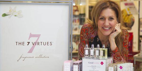 Barb Stegemann, CEO The 7 Virtues Beauty Inc. and Dragons' Den winner
