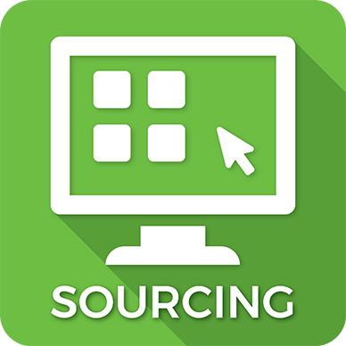 Sourcing icon